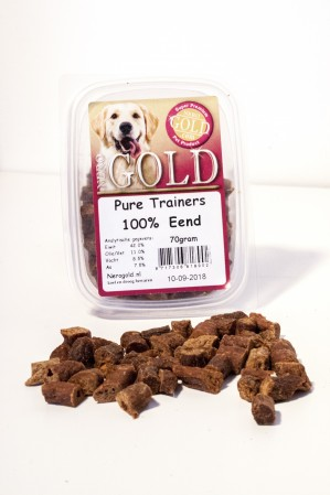 Nero Gold 100% vlees trainers 70 gr.