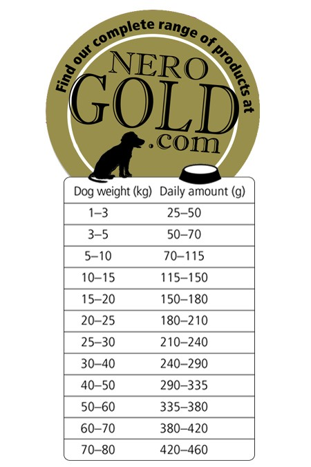 Nero Gold Hond Adult