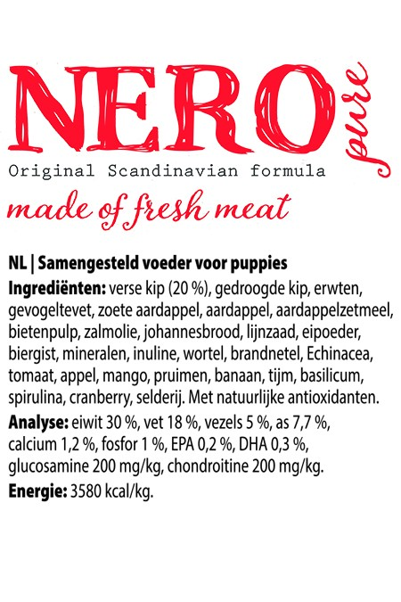 Nero PURE Puppy